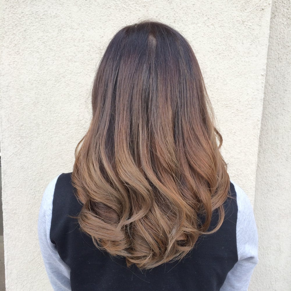 Ombr done by jimmy nguyen yelp for Allure hair salon