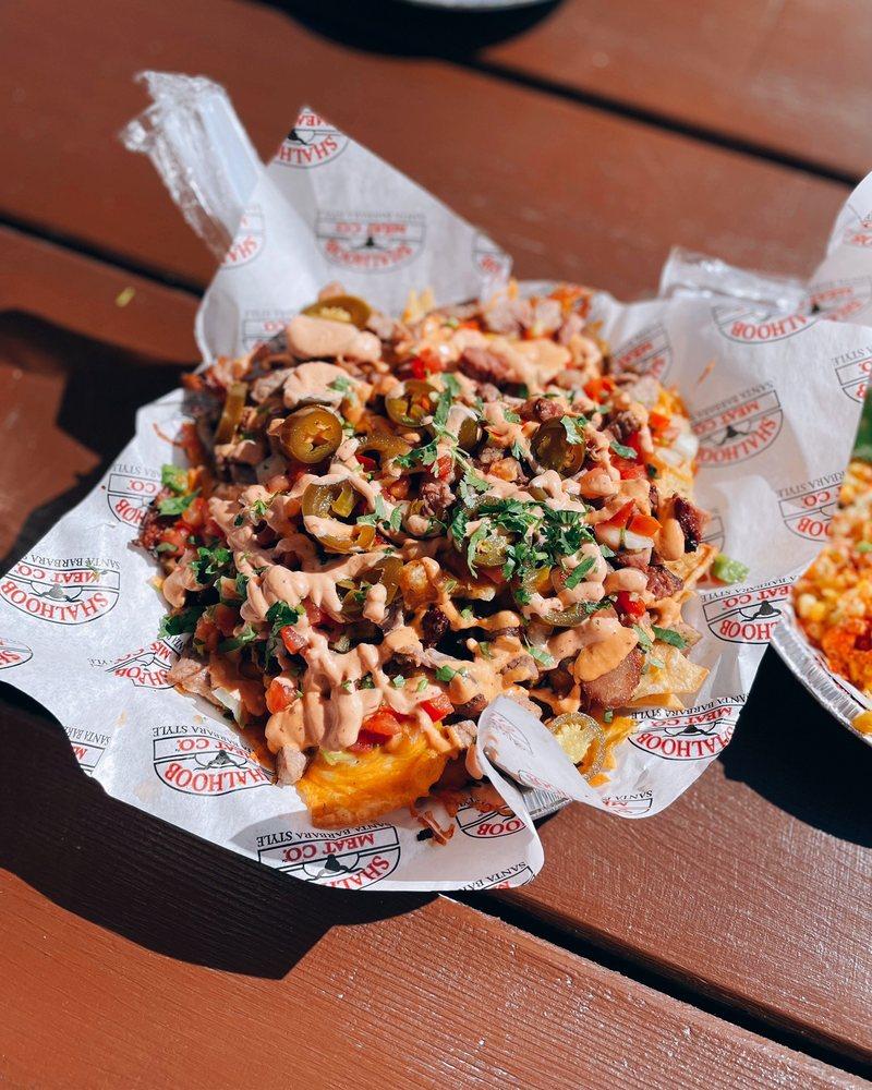 Food from Shalhoob's Funk Zone Patio