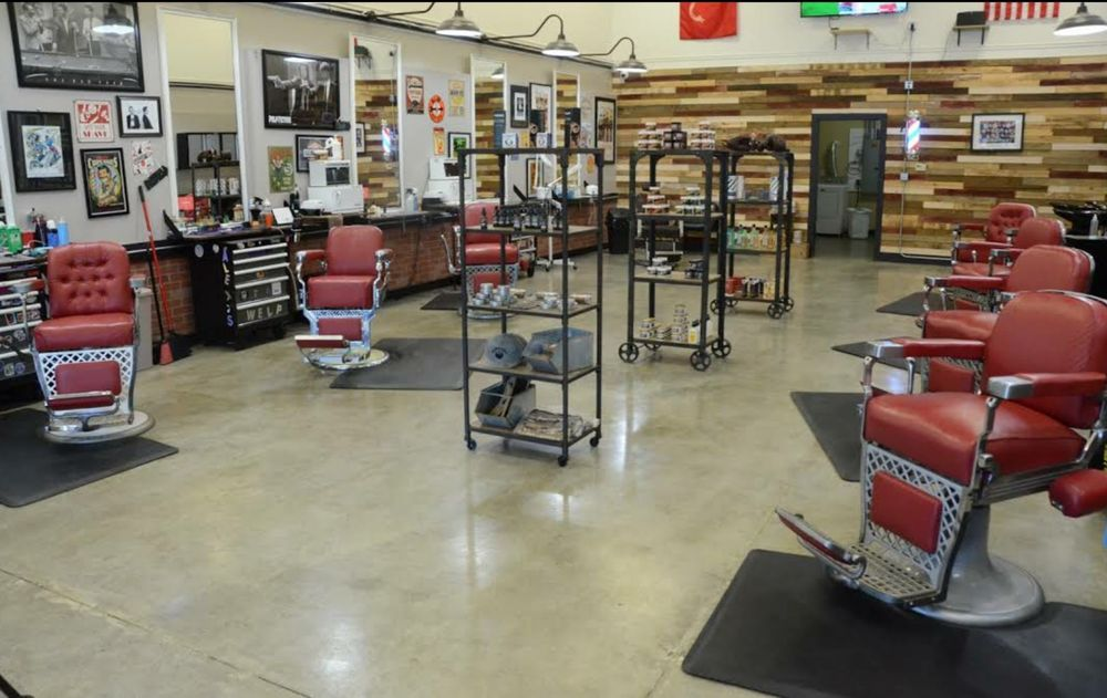 The Lather & Fade Shop Granger: 222 W Cleveland Rd, Granger, IN