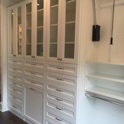 Autumn Glow Desk Photo Of Chattanooga Closet   Chattanooga, TN, United  States. White Melamine Closet With ...