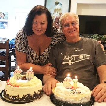 Jim & Terry celebrating together.  Birthdays June 13th and June 14