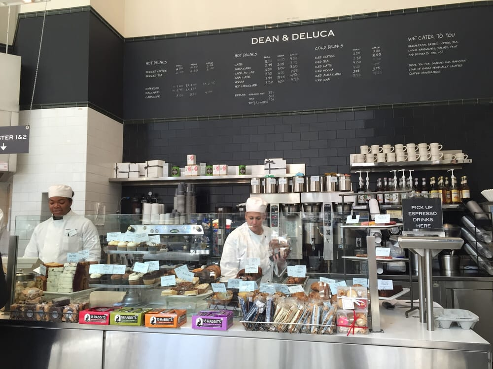 Dean And Deluca New York Times Cafe Menu