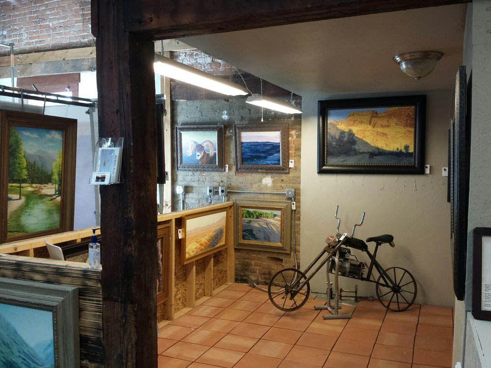 The Blue Pig Gallery: 101 W 3rd St, Palisade, CO