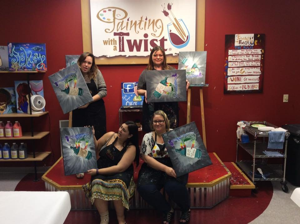 Painting with a Twist: 1570 N McMullen Booth Rd, Clearwater, FL