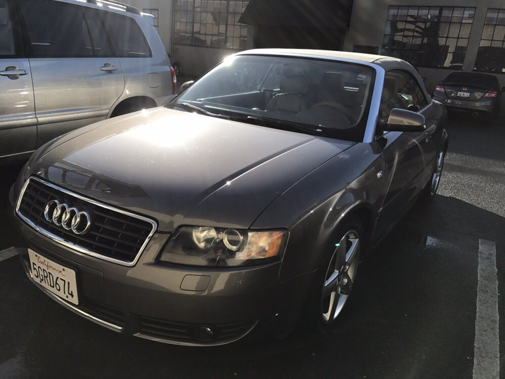 Audi A Left Front End Damage Repaired Yelp - Audi auto body