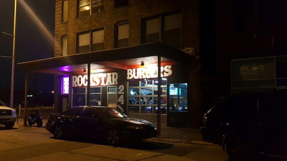 Rockstar Burgers  Genessee St Kansas City Mo