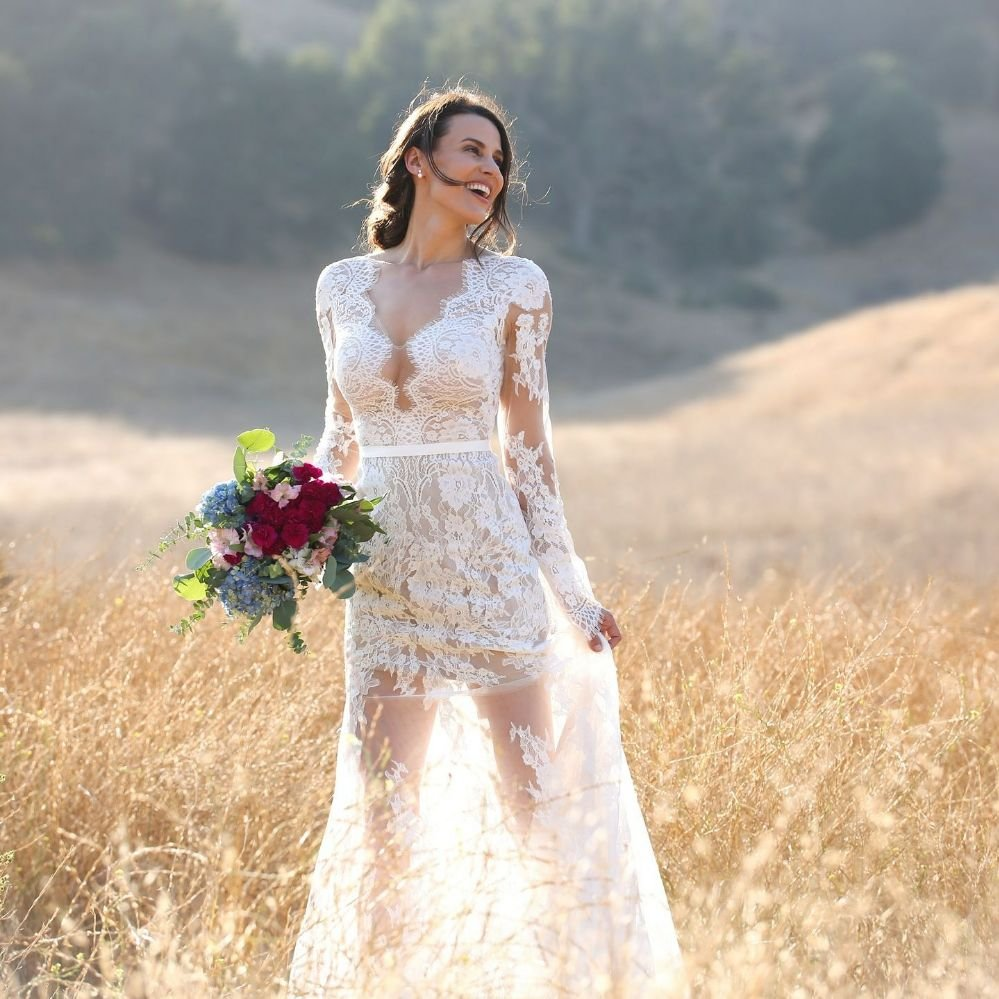 Willowby By Watters Sage Gown Boho Wedding Dress At Fleurish La Yelp
