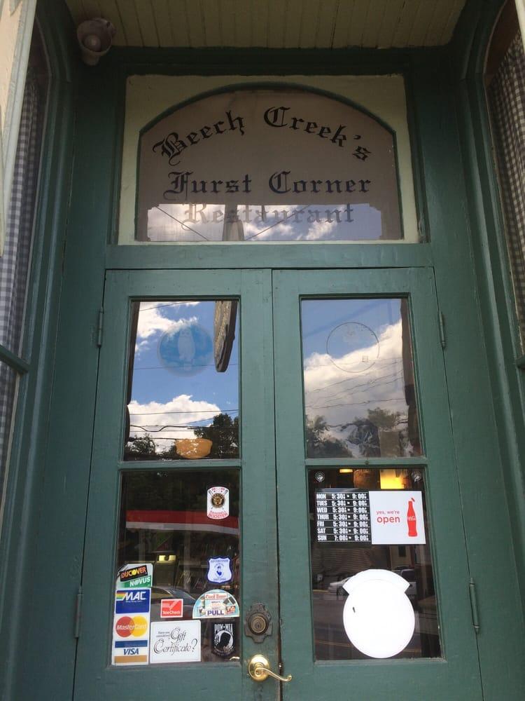 Beech Creek Furst Corner Restaurant: 39 Main St, Beech Creek, PA