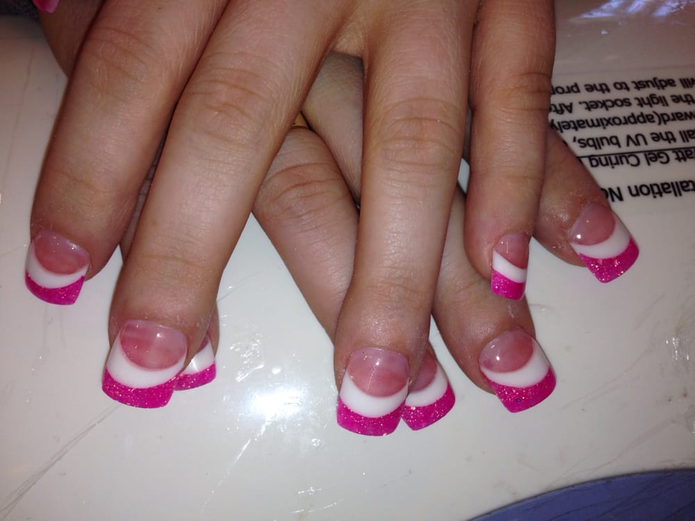 Pink & white powder by Lini - Yelp