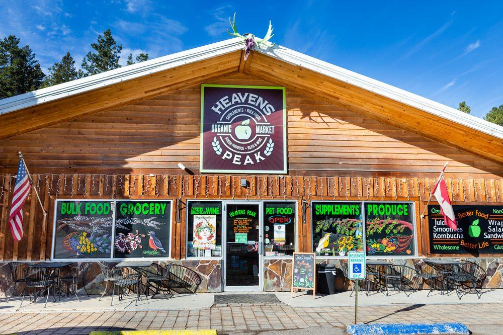 Heavens Peak Organic Market: 355 US-93, Eureka, MT