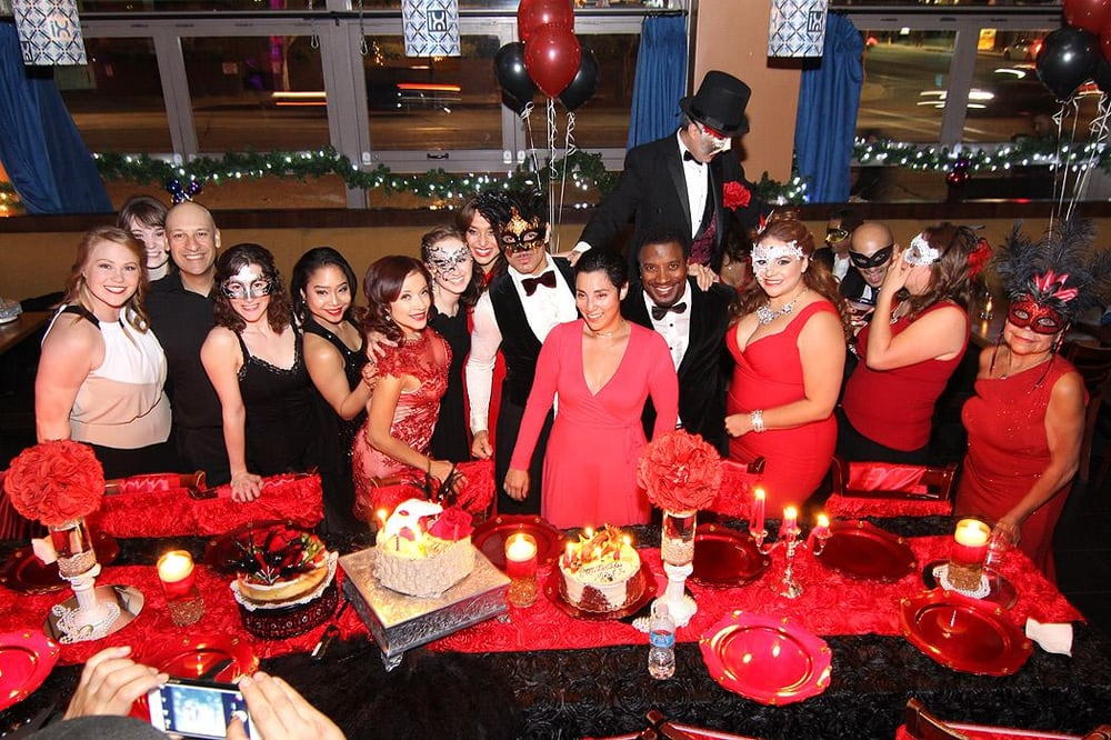 Phantom Of The Opera Themed Birthday Party Hosted By Latin Dance Pro