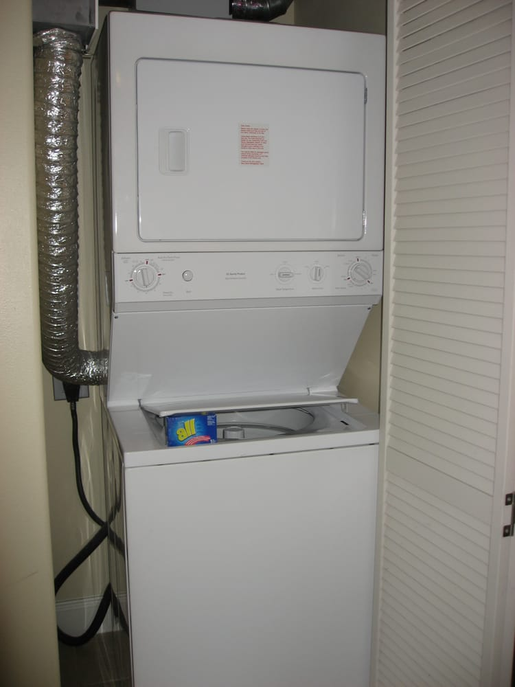 Washer And Dryer Combo In Our One-bedroom Condo At Blue