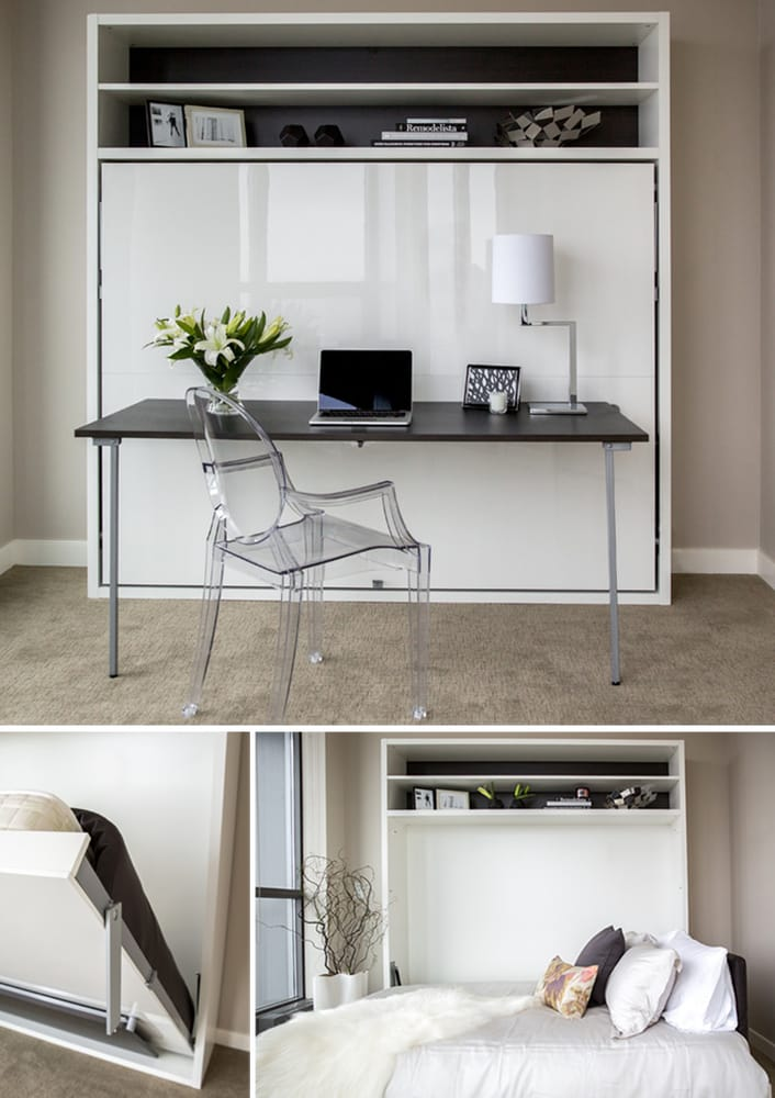 queen wall bed desk. Photo Of Resource Furniture - San Francisco, CA, United States. Adam Tavolo Queen Wall Bed Desk K
