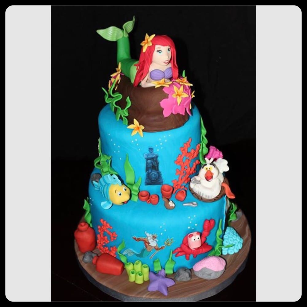 Photo Of Bettylicious Cakes   Coral Springs, FL, United States. The Little  Mermaid