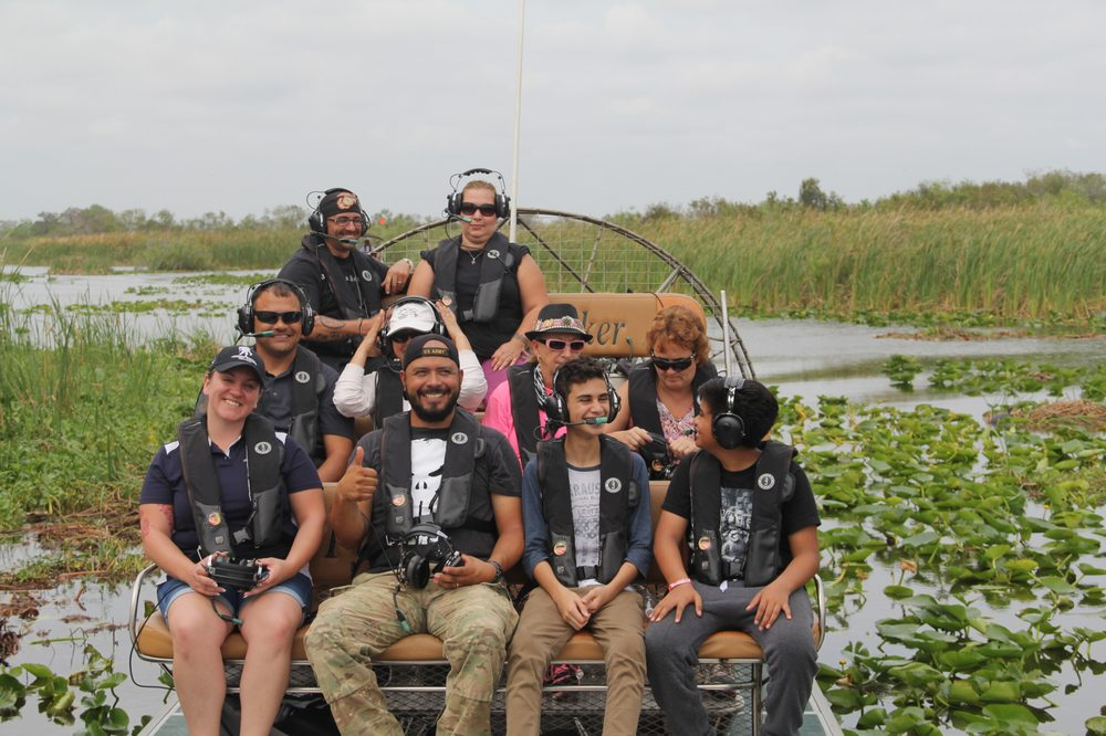 Florida Cracker Airboat Ride: Cr 512 Blue Cypress Recreation Area, Fellsmere, FL