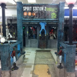 photo of spirit halloween stores fresno ca united states the zombie station