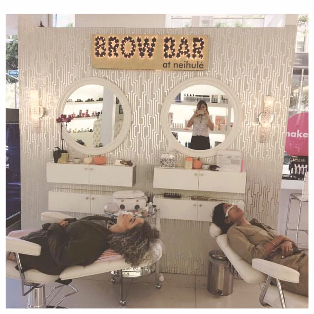 Neihule Nail Salon Los Angeles: Just Another Busy Day At Our Brow Bar!