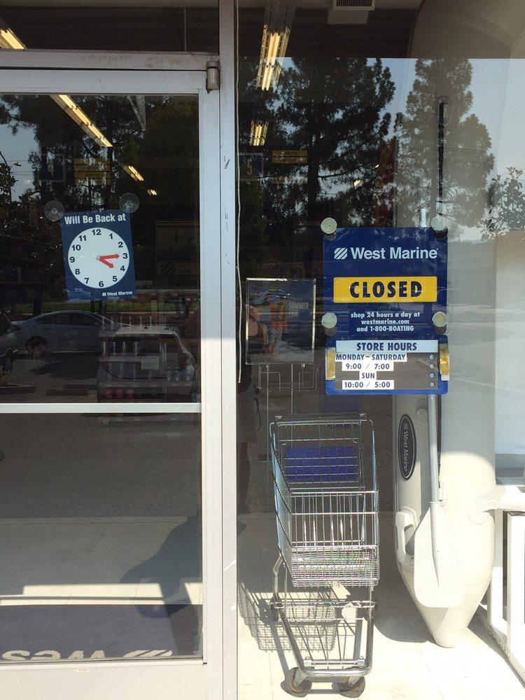 West Marine: 521 Contra Costa Blvd, Pleasant Hill, CA