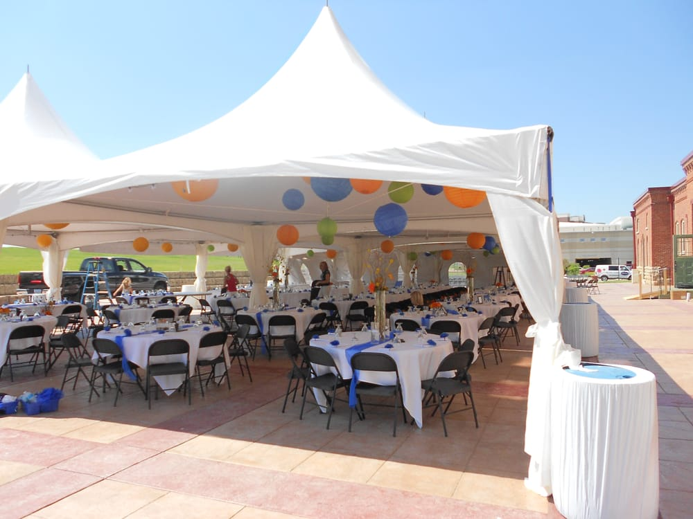 of Inside Decor Rental  Dubuque, IA, United States. The framed tents