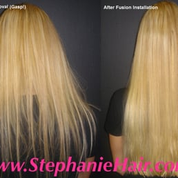 Stephanie hair extensions hair extensions 1 valhalla inn road photo of stephanie hair extensions toronto on canada pmusecretfo Images