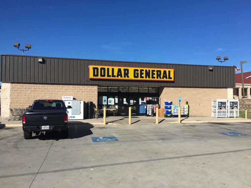 Dollar General Store: 550 S Main St, Rhome, TX