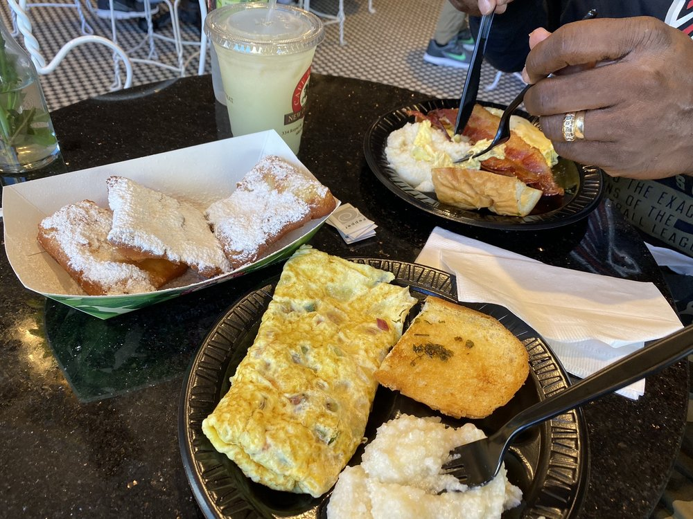 Food from Cafe Beignet - Canal Street