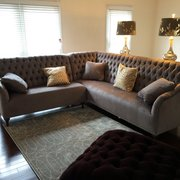 ... Photo Of Arhaus   McLean, VA, United States. Our Custom Fabric Fiona  Sectional ...