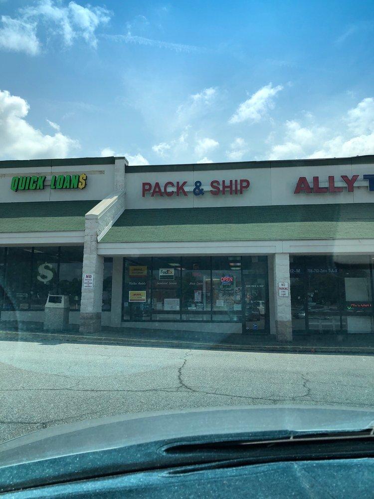 Quik Pack & Ship: 1512 Eatonton Rd, Madison, GA