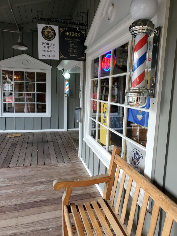 Ford's The Stylist & The Barber: 5201 W War Memorial Dr, Peoria, IL