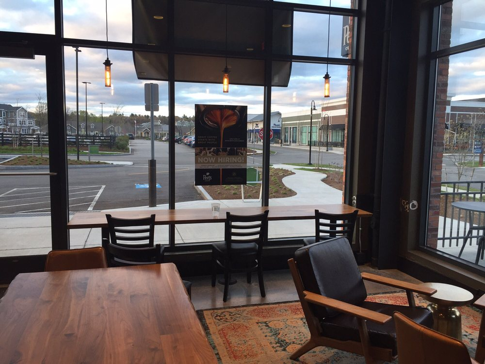 Peet's Coffee: 534A Boston Post Rd, Wayland, MA