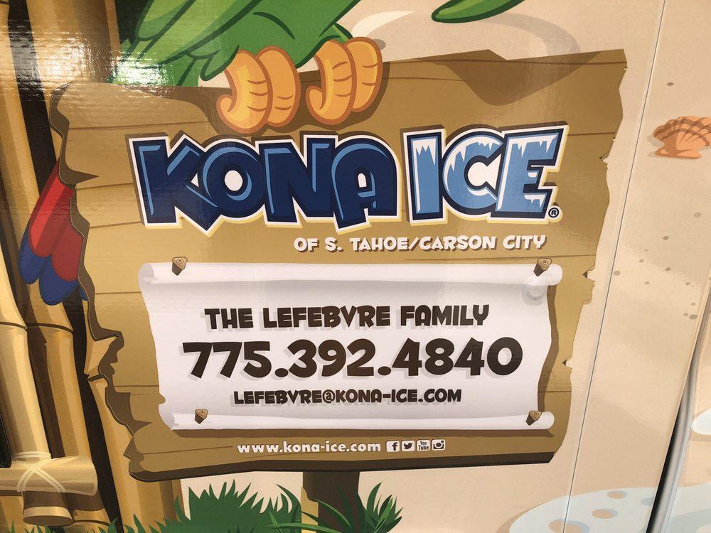Kona Ice of S. Tahoe/Carson City