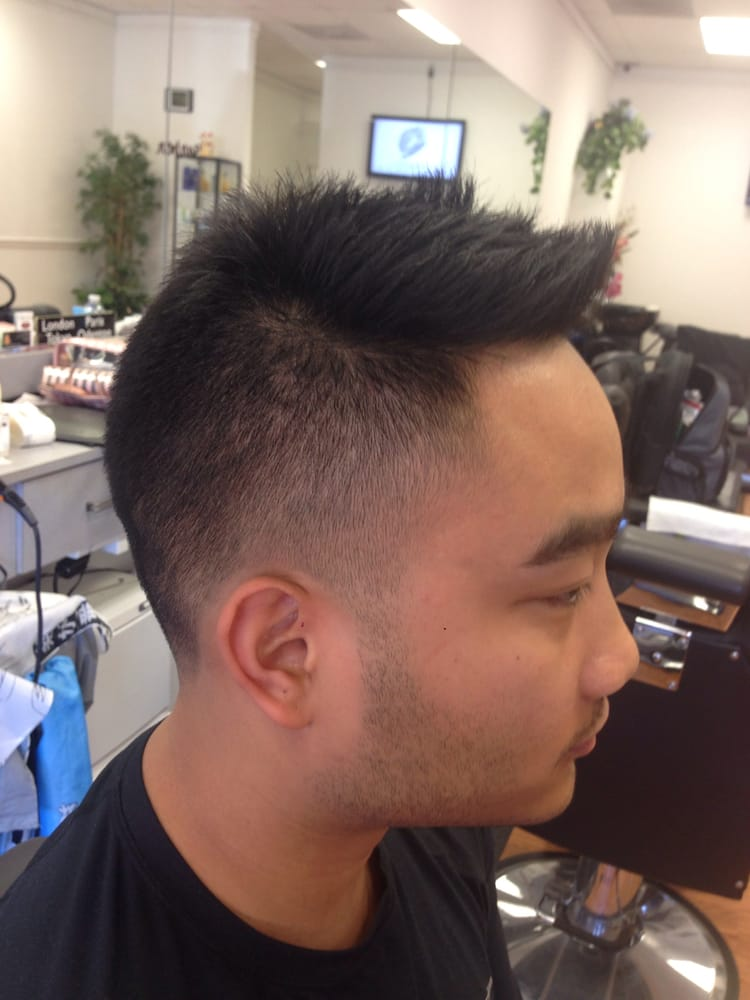 Nice Photo Of Minhu0027s Barber Shop   Odenton, MD, United States. Faux Hawk Fade