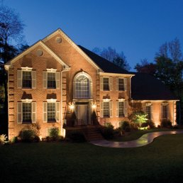 Photo Of Outdoor Lighting Perspectives   Midlothian, VA, United States.  Facade And Architectural