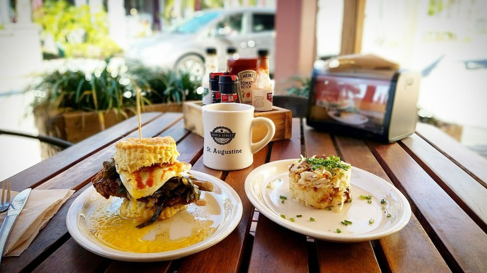 Maple Street Biscuit Company - Old City: 39 Cordova St, Saint Augustine, FL