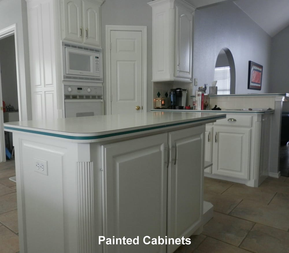william o kitchen cabinets original cabinets sanded and painted white really pop 29287