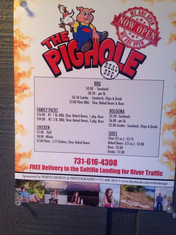 The Pighole: 47570 Tennessee 69, Saltillo, TN