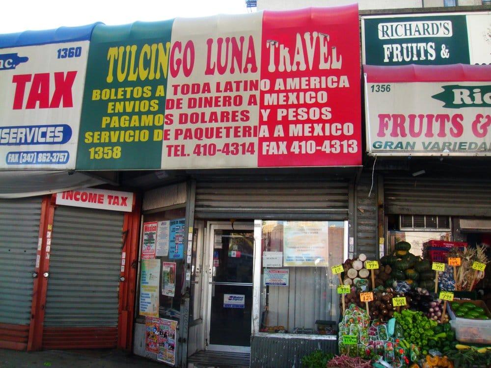 Tulcingo Luna Travel: 1358 Jerome Ave, Bronx, NY