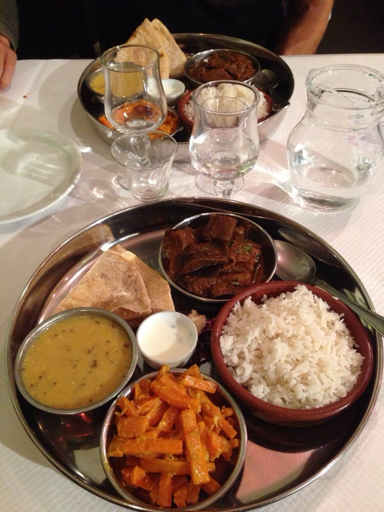 ce plat indien v g tarien bio et l g rement pic le menu pour le soir est tr s bon 3 toiles. Black Bedroom Furniture Sets. Home Design Ideas