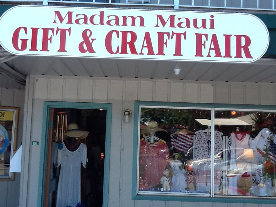 Arts Craft Fair In Maui