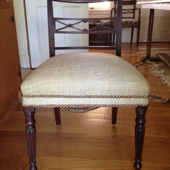 Photo Of Ferrufino Interiors   Culver City, CA, United States. 4 Chairs  Reupholstered