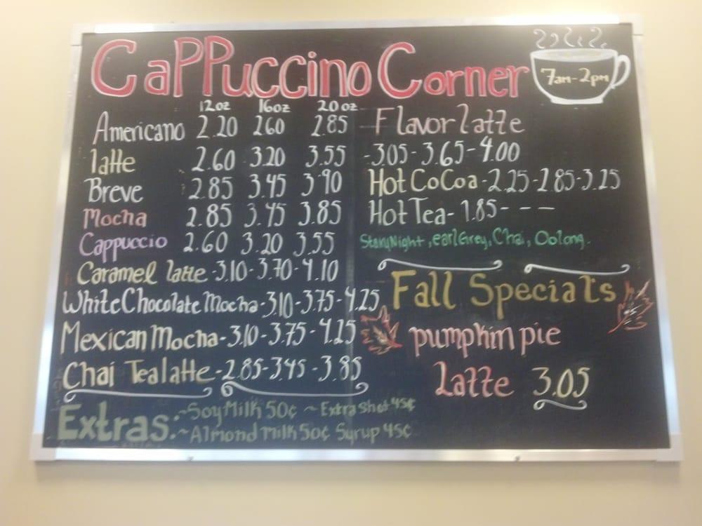cappuccino corner  vw credit closed coffee tea  nw bennett st hillsboro  yelp