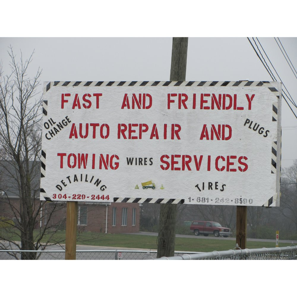 Fast and Friendly Auto Repair and Towing Service: 726 Middleway Pike, Inwood, WV