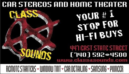 Class A Sounds: 447 E State St, Athens, OH