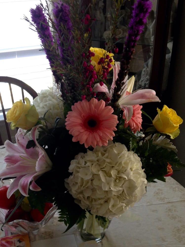 Colorful Spring Arrangement Yelp