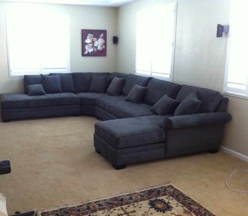 love my new jumbo size sectional yelp. Black Bedroom Furniture Sets. Home Design Ideas