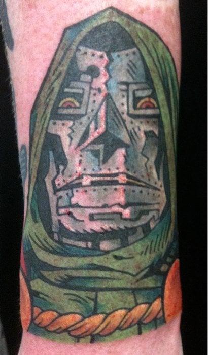Dr doom by kenny brown yelp for Tattoo fredericksburg va