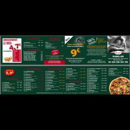 Carte Kiosque A Pizza.Le Kiosque A Pizzas 10 Photos Pizza Rue Du Perre Rubelles