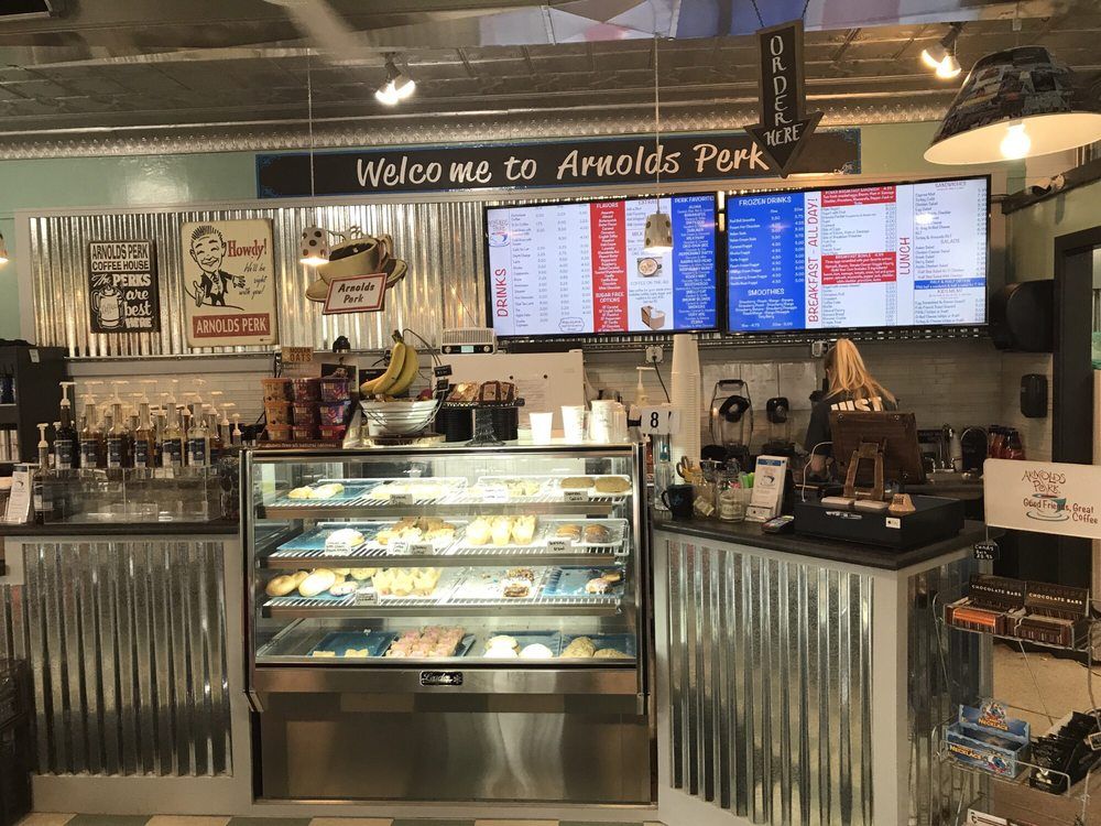 Arnold's Perk: 140 W Broadway, Arnolds Park, IA