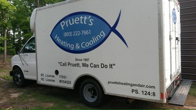 Pruett's Heating & Air Conditioning: 2404 Hwy 161 S, York, SC