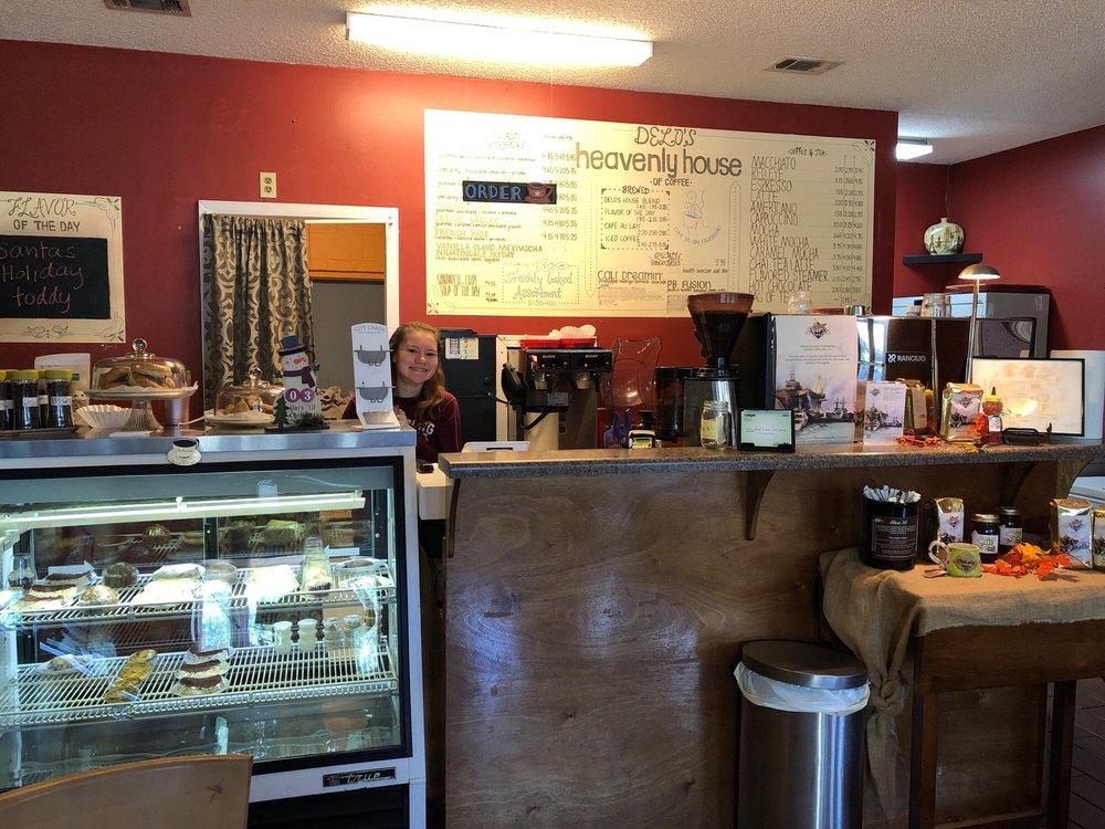 Delo's Heavenly House of Coffee: 3880 Gautier Vancleave Rd, Gautier, MS